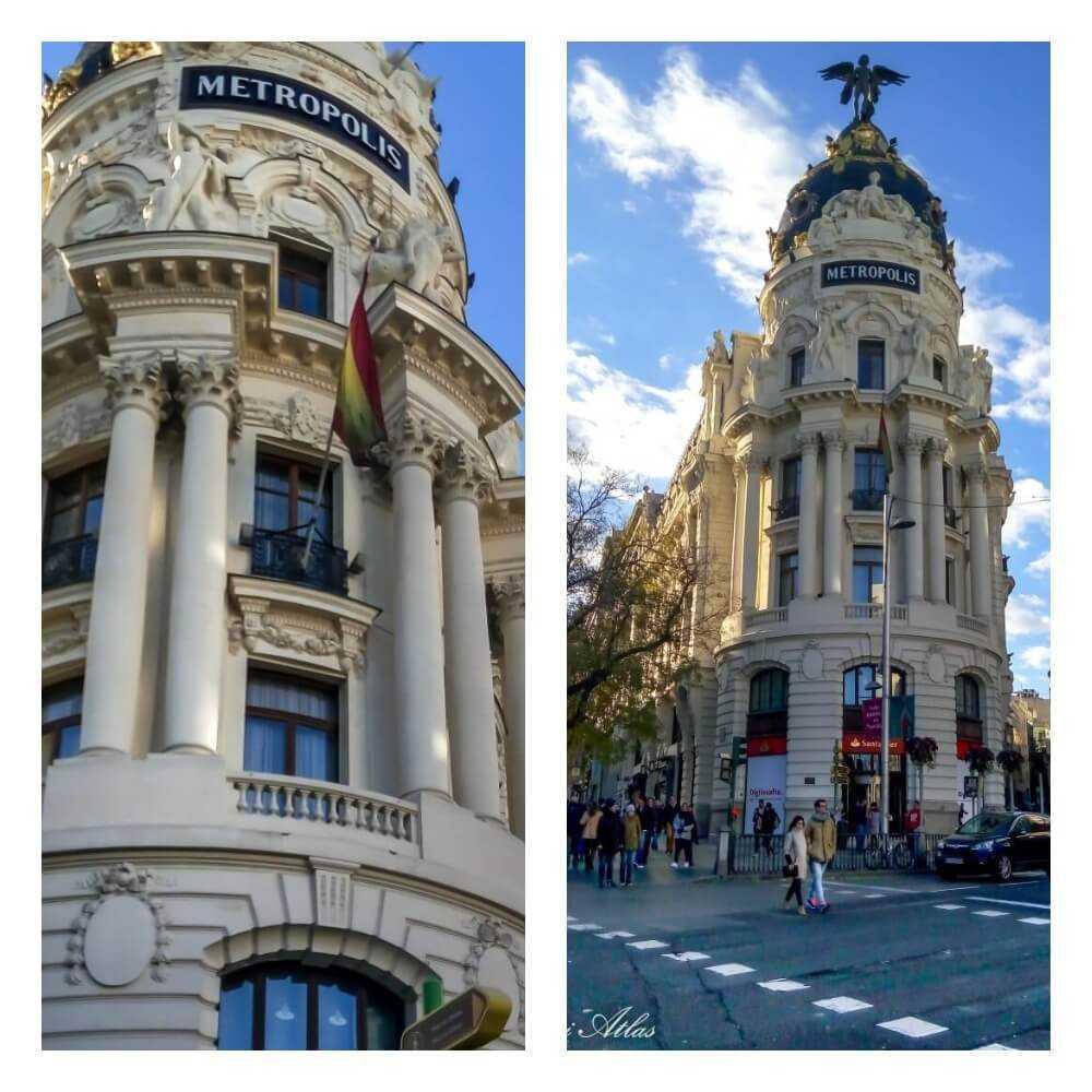 הבנין הכי מצולם במדריד