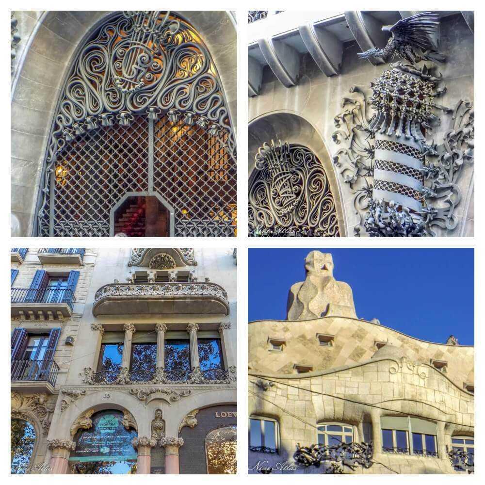 מבנים מודרניסטה