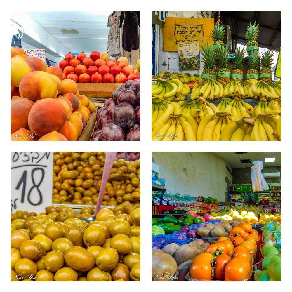 שוק רמלה פירות וירקות