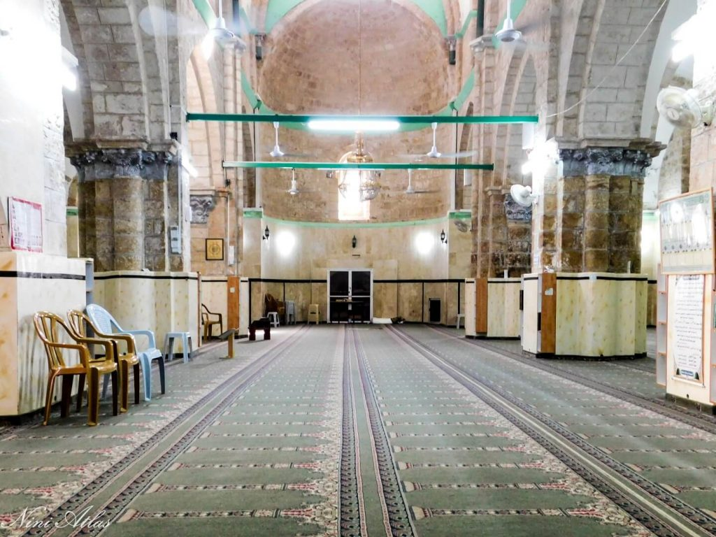 המסגד הגדול פנים רמלה