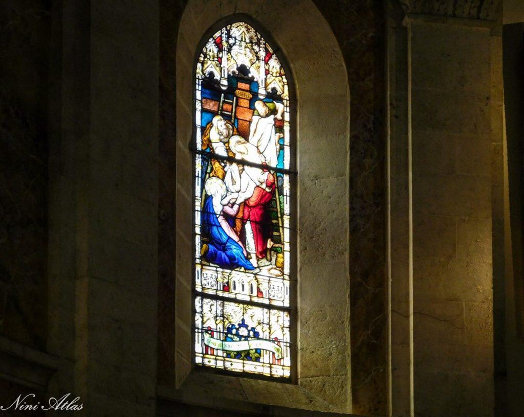 ויטראז' בכנסייה הפרנצ'נסקנית רמלה