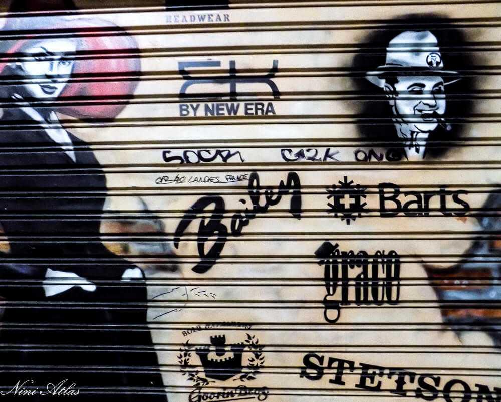 גרפיטי בשכונת אל רוואל