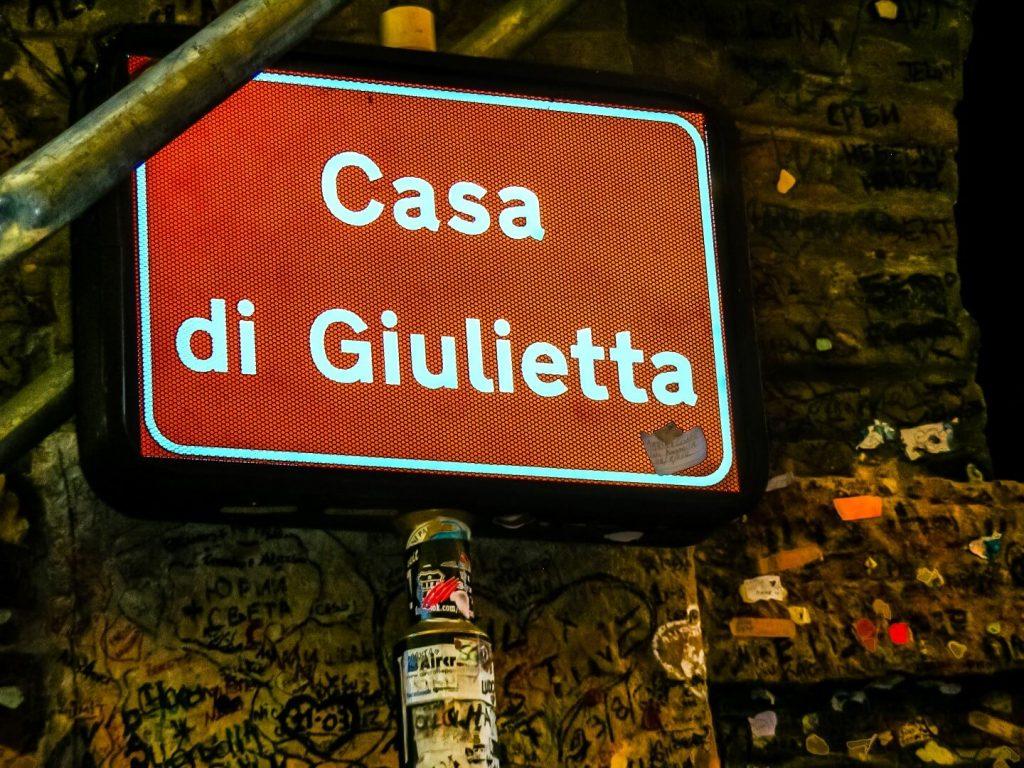Casa dei Giulietta - בוורונה