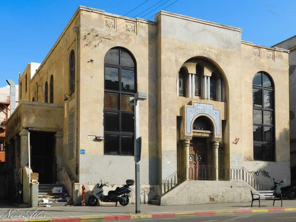 בית הכנסת של מושב זקנים