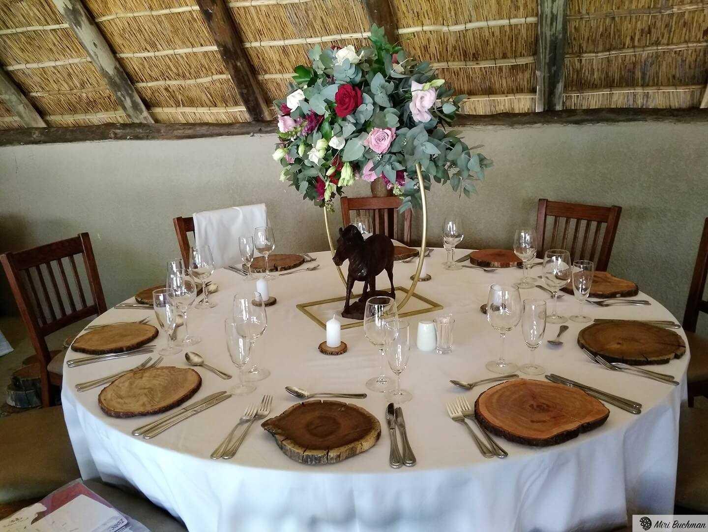 שולחן בחתונה