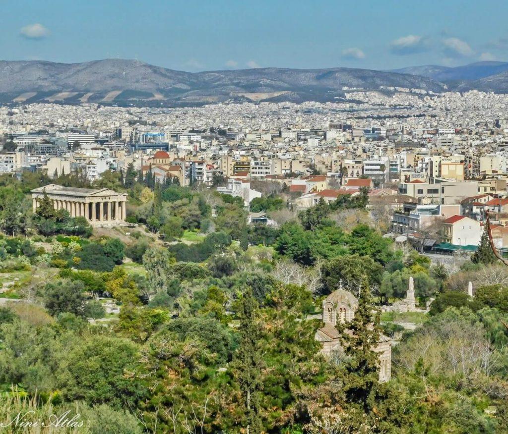 נופי אתונה