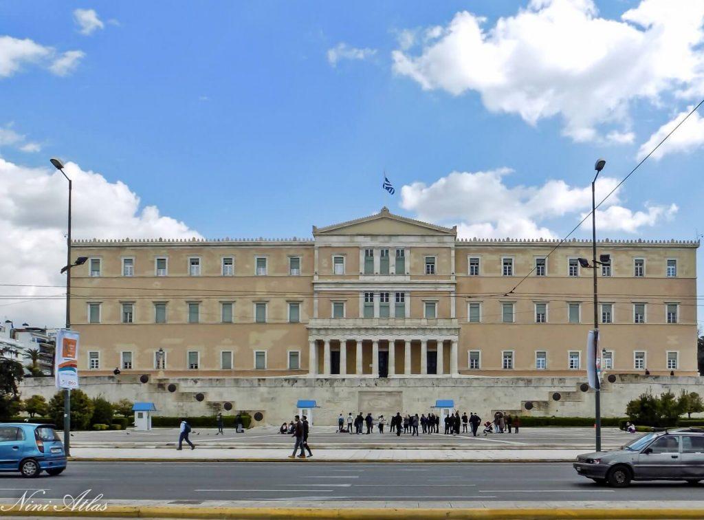 בנין הפרלמנט באתונה