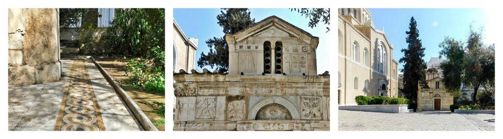 לצידה קפלת הבתולה שנבנתה במאה ה 12
