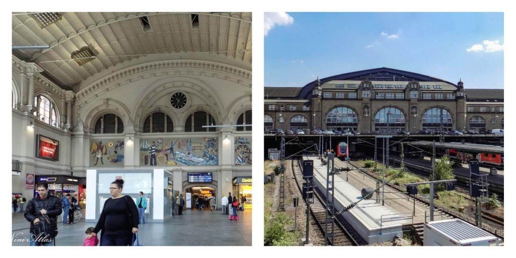 תחנת הרכבת בהמבורג