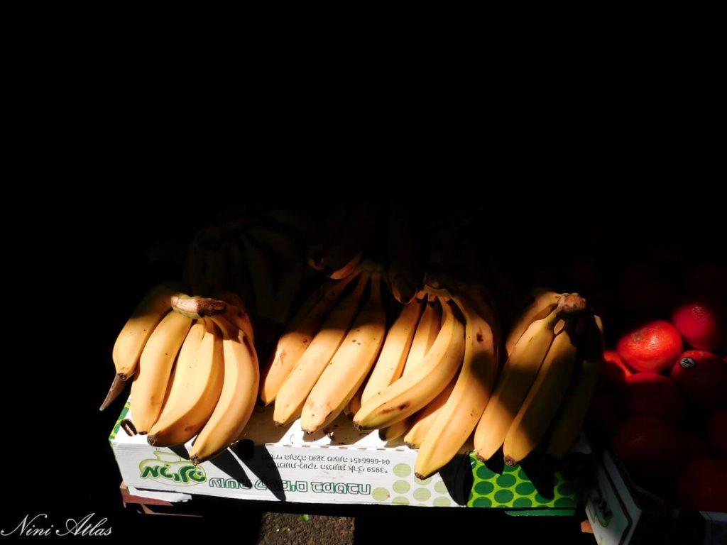 בננות בשוק