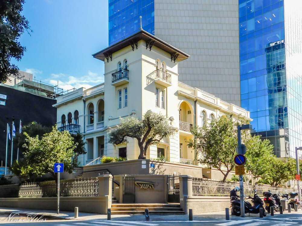 בית השגרירות הרוסית – בית לוין – שדרות רוטשילד 46