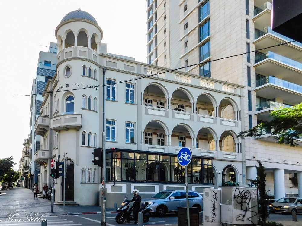 מלון גינוסר (מלון בן נחום) – שדרות רוטשילד 32
