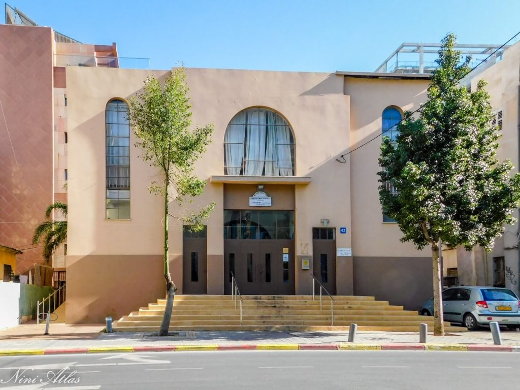 """בית הכנסת הגר""""א"""