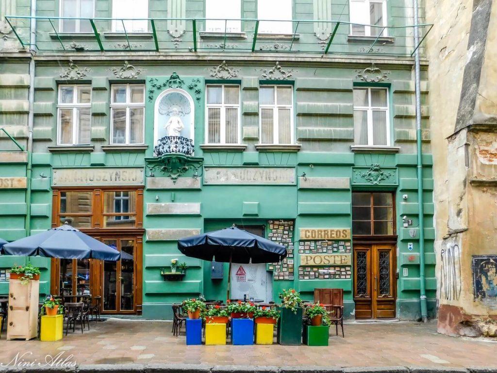 poshta local pasta and beer Lviv