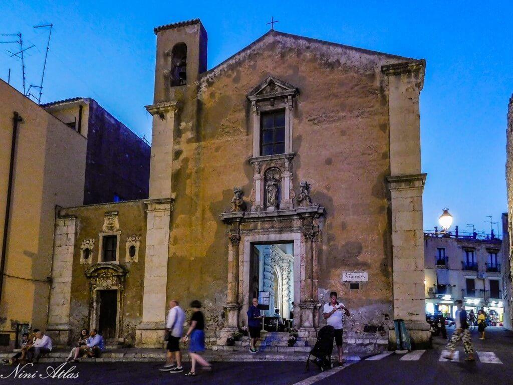 Taormina, Sicily Chiesa di S. Caterina d'Alessandria d'Egitto