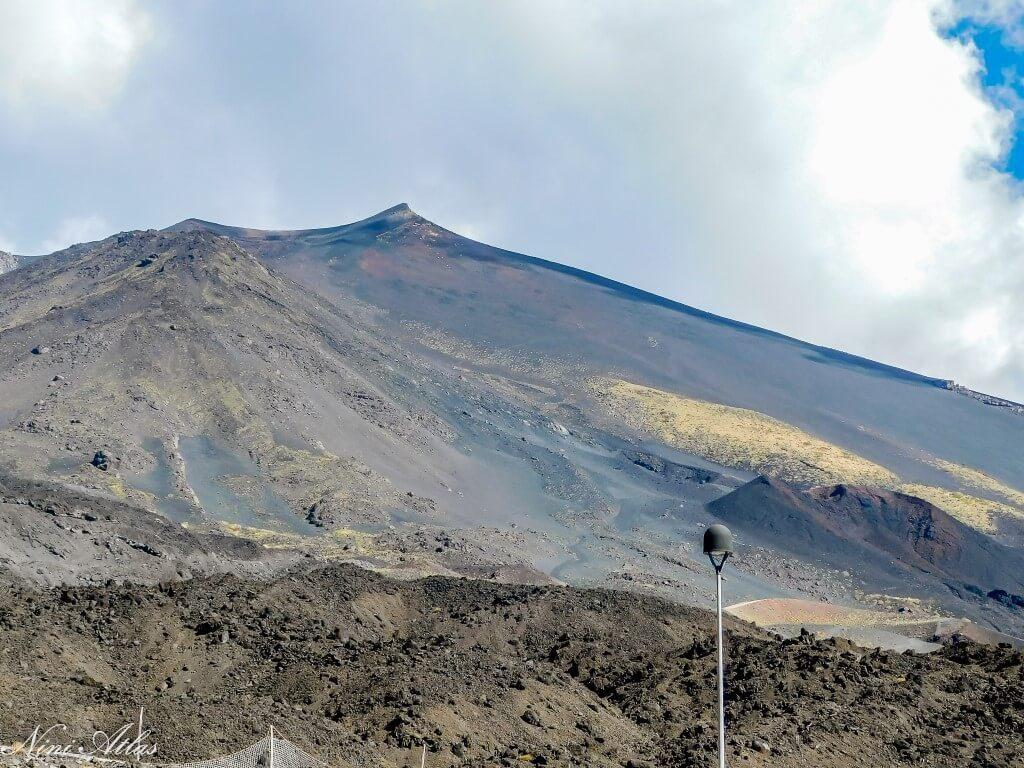הר הגעש אטנה - סיציליה Etna Sicily volcano