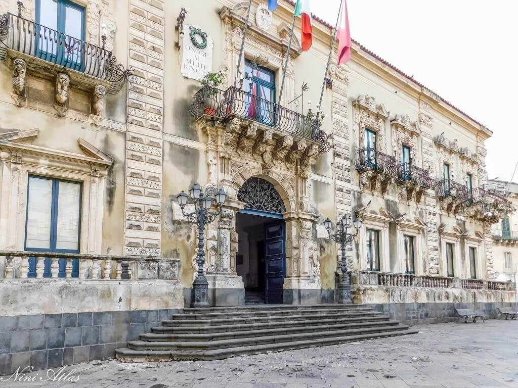 Acireal Sicily City Hall
