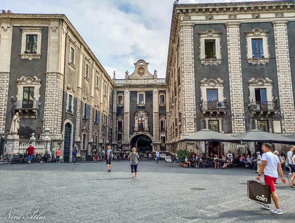Catania Sicily Porta Uzeda