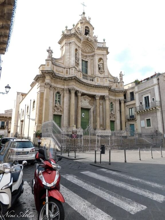 Catania Sicily Basilica Maria Santissima dell'Elemosina