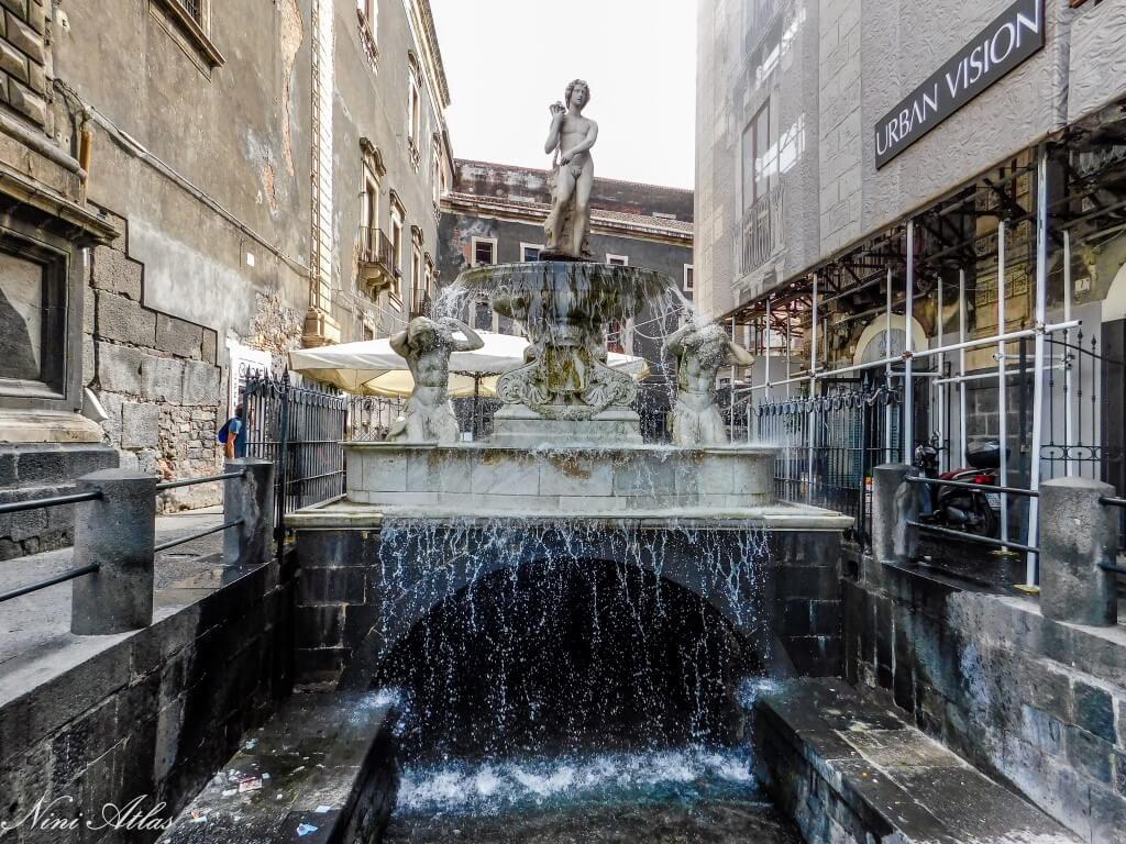 Catania Sicily Fontana dell'Amenano