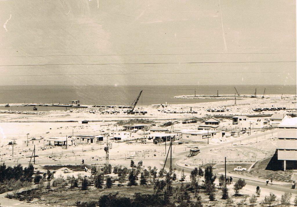 נמל אשדוד 1964 פרטי