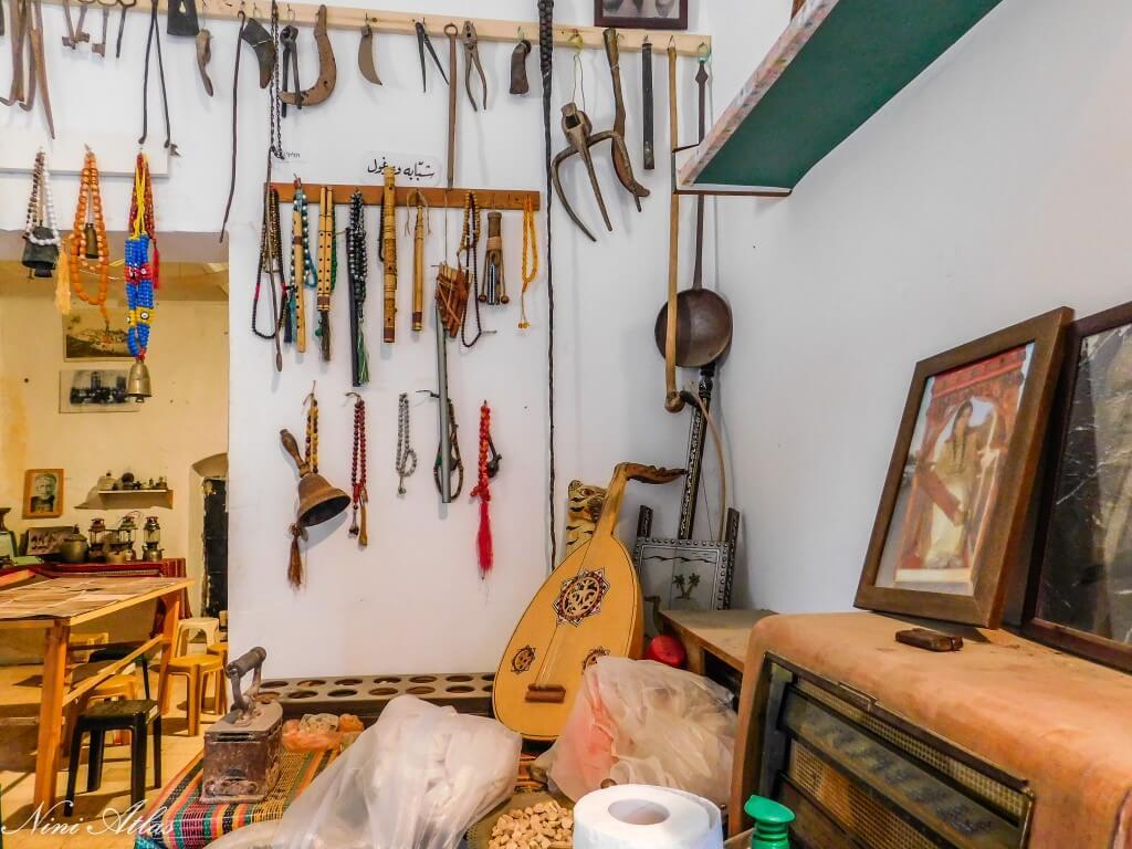 המוזיאון למורשת התרבות הפלאחית על שם פטימה - אום אל קטאף
