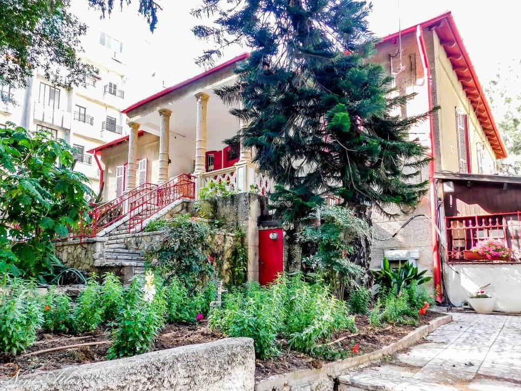 בית עובד בן אהרן אייזנברג רחובות
