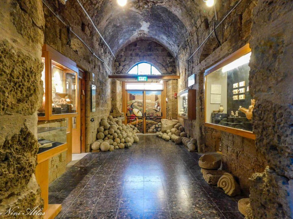 מוצגים במוזיאון המזגגה