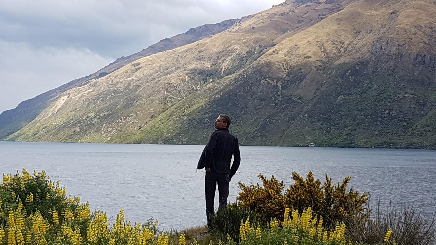 מטיילת בניו זילנד
