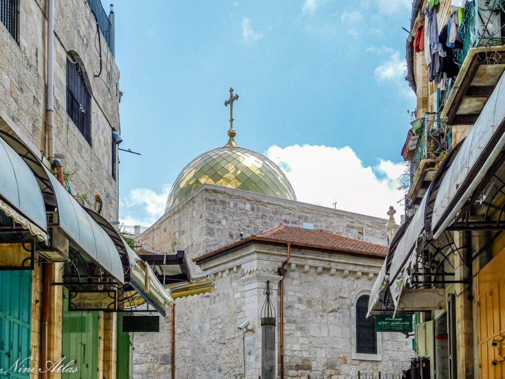 כנסיה יוונית אורתודוכסית ליד המוריסטאן