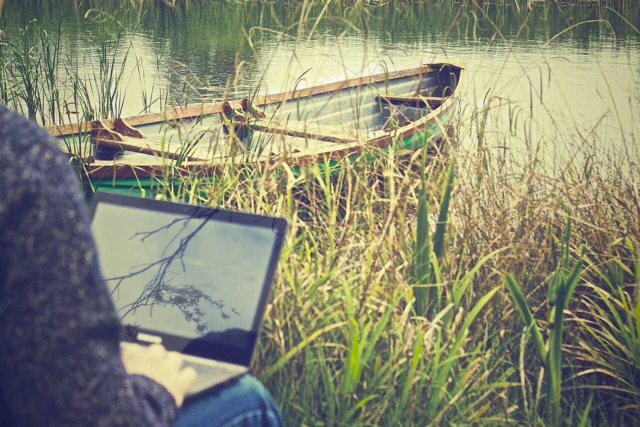 נוודות דיגיטלית לעבוד ולטייל