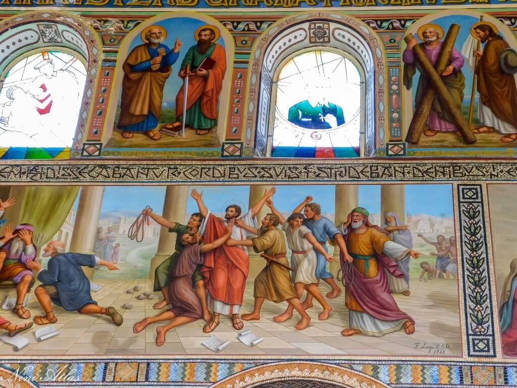 ציורי הקיר בכנסיית סן סטפנוס בית ג'אמל