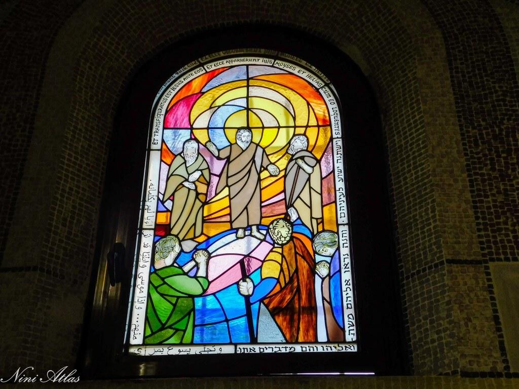 ויטראז' בכנסיית סן סטפנוס בית ג'אמל