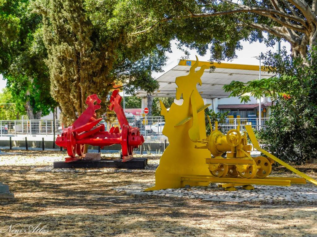 גן הפסלים של יגאל תומרקין