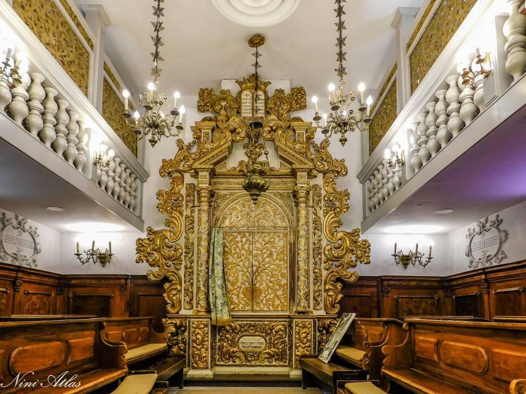 בית הכנסת קונליאנו ונטו מוזיאון יהדות איטליה
