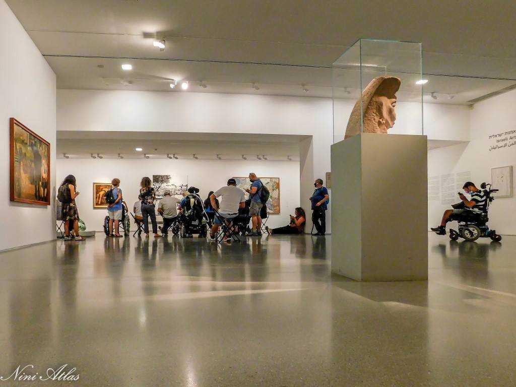 טיול נגיש מוזיאון ישראל