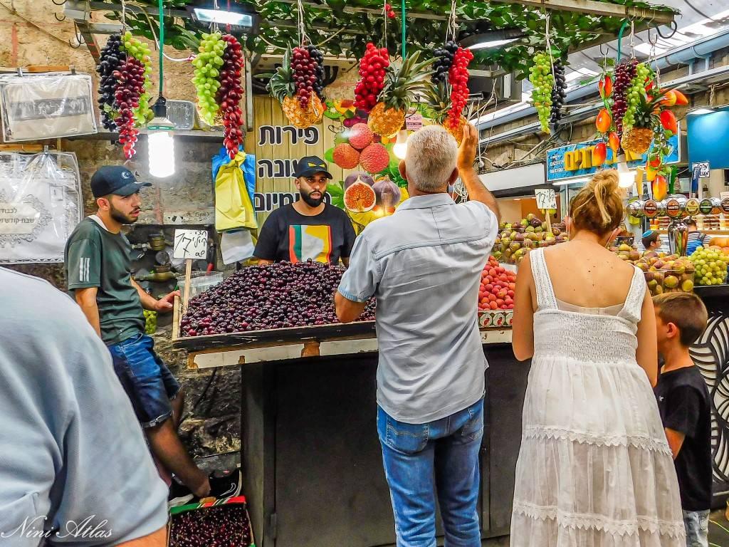 קולות וצבעים בשוק