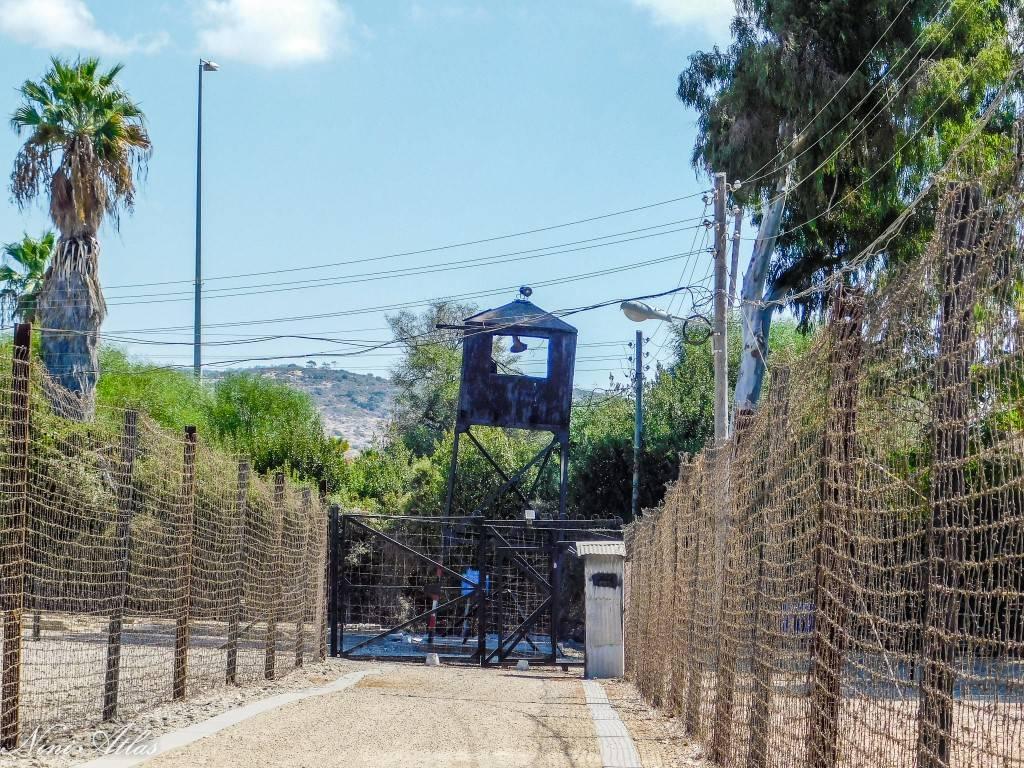 מגדל שמירה במחנה המעפילים עתלית
